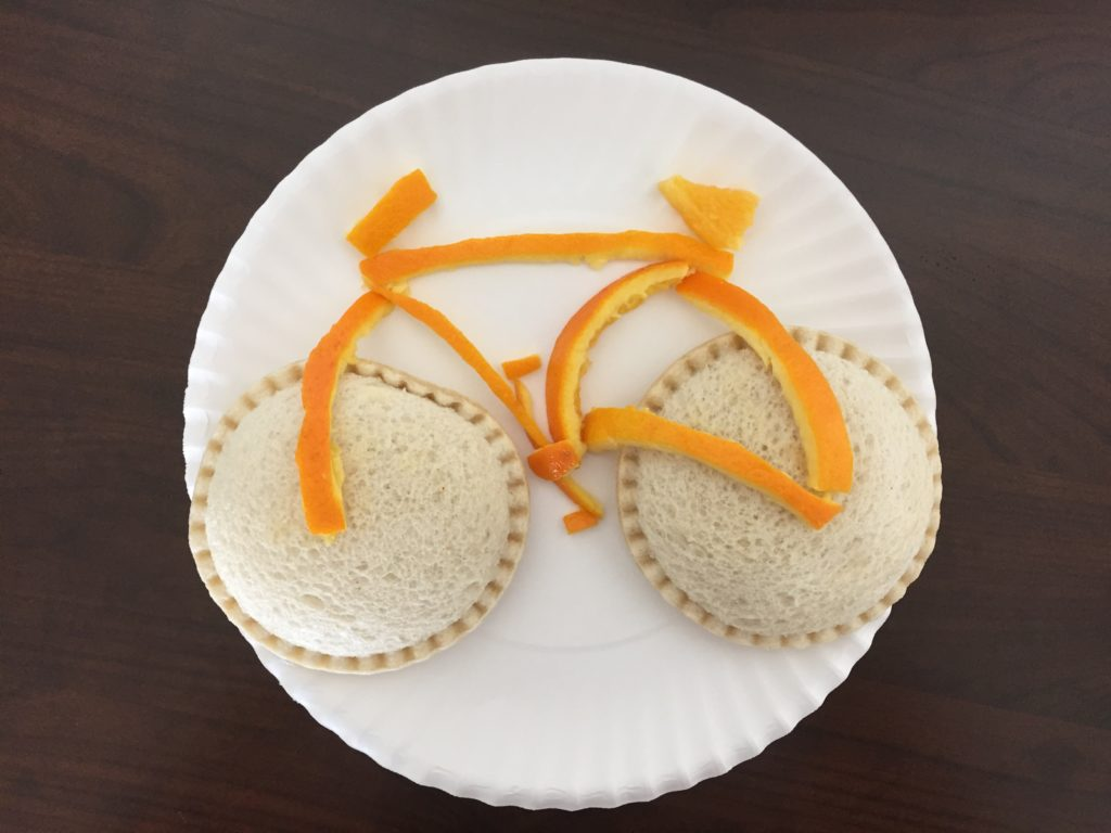 Bike themed snacks and activities