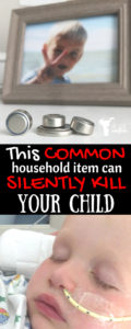Common household item that can silently kill your child
