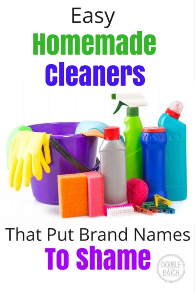 Easy Homemade Cleaners that Put Name-brands to Shame