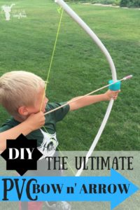 DIY - The ULTIMATE PVC Bow and Arrow