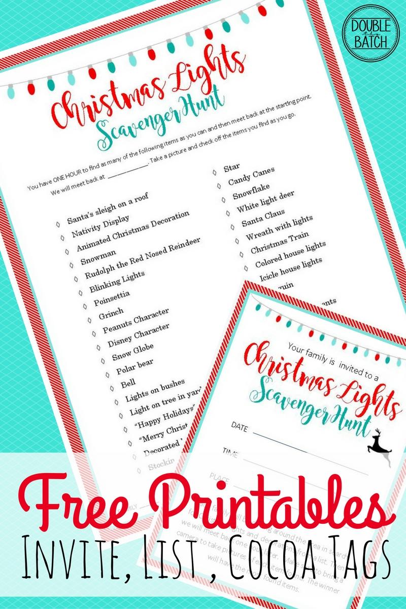 Free Printable Invitations Christmas Party Invitation Template