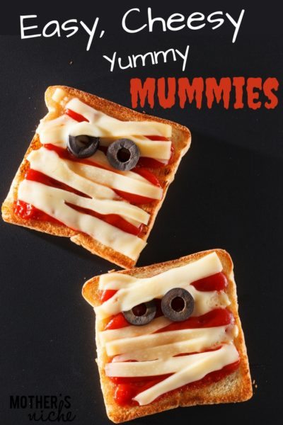 Easy Cheesy Yummy Mummies