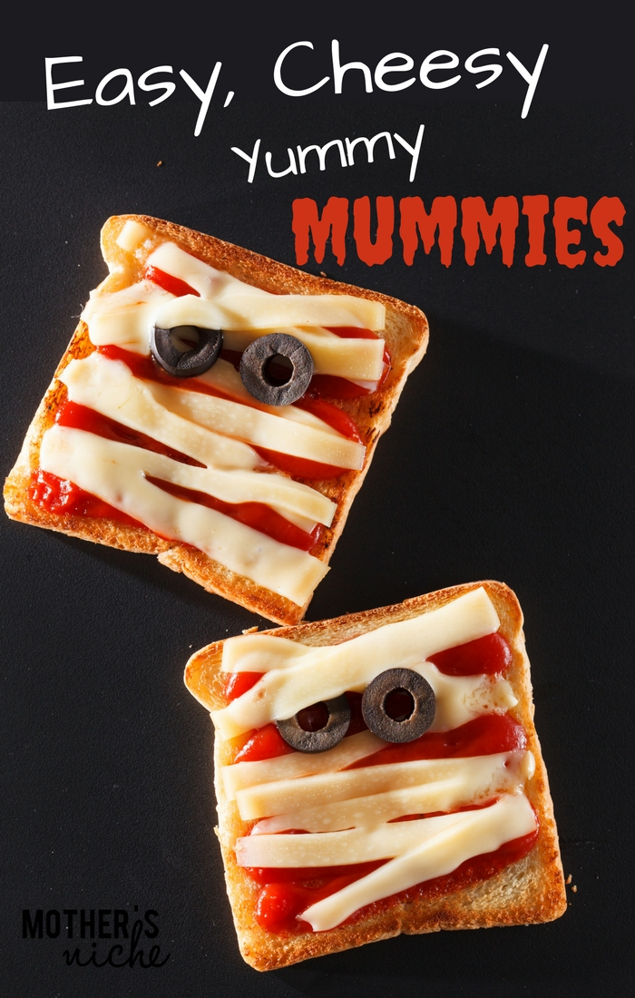 Quick easy Halloween dinner or snack!