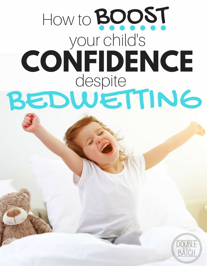 Don't let bedwetting lower your child's confidence! With 3 bedwetters in our home, this is how we boosted their confidence. #RestEasyTonight @GoodNites