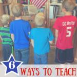 "6 Ways to Teach our Children the Phrase, ""ONE NATION UNDER GOD!"""