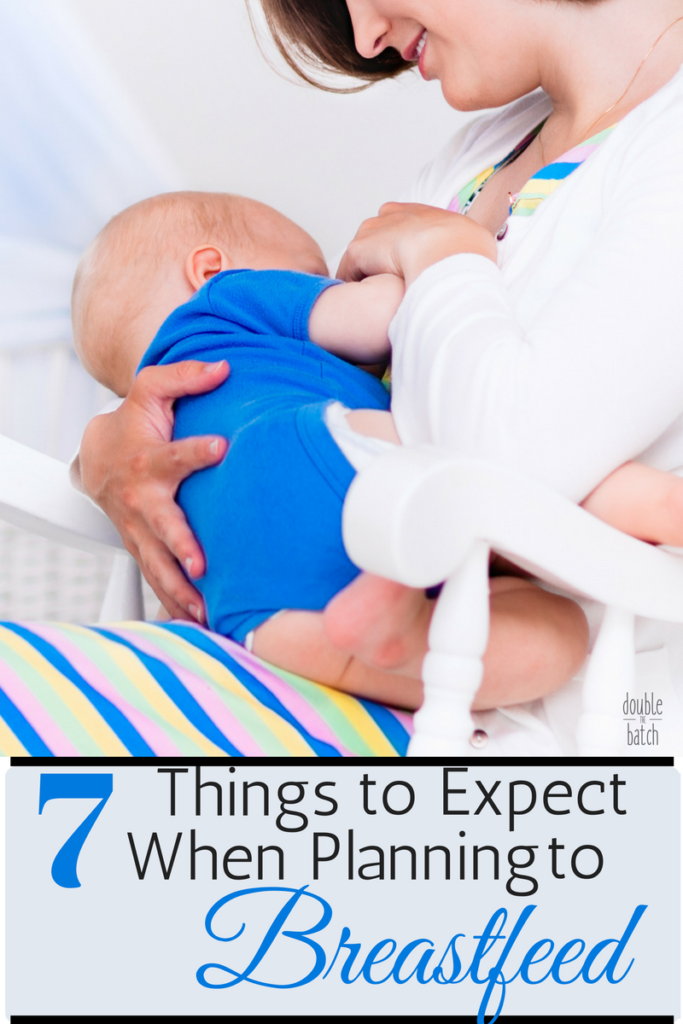 I wish someone had told me these things to expect when planning to breastfeed so that I wasn't so hard on myself.