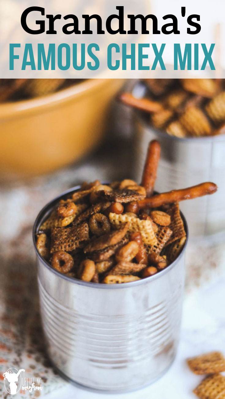Check out this chex mix with just the right amount of flavor that will leave you wanting more!