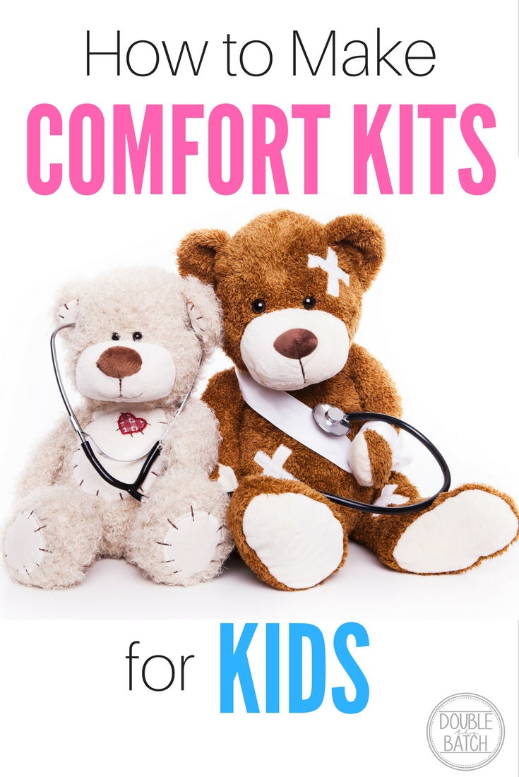 #LIGHTtheWORLD! These comfort kits are great for natural disasters, emergencies or for when your kid is just going through a rough patch! Also a great idea for families to make for neighbor gifts! #LIGHTtheWorld
