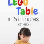 How to Make a Lego Table in 5 Minutes (or less)