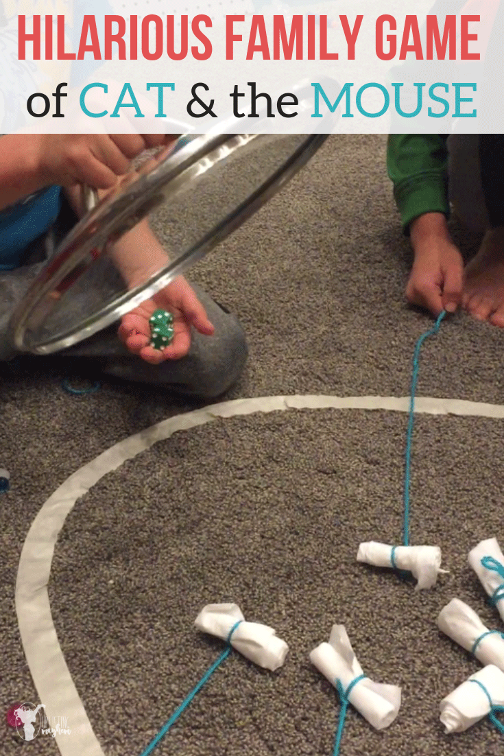 Fun family game with items that are around your house! So fun and something everyone can play!