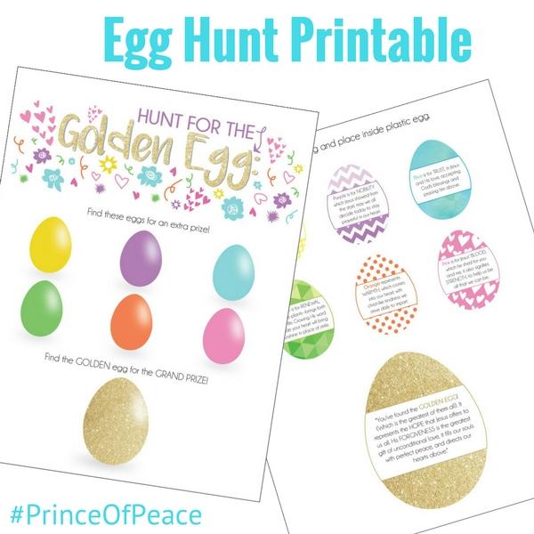 Egg Hunt Printables