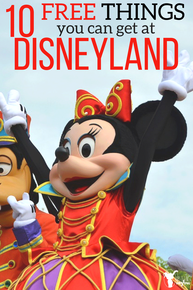 10 Free things you can get at Disneyland