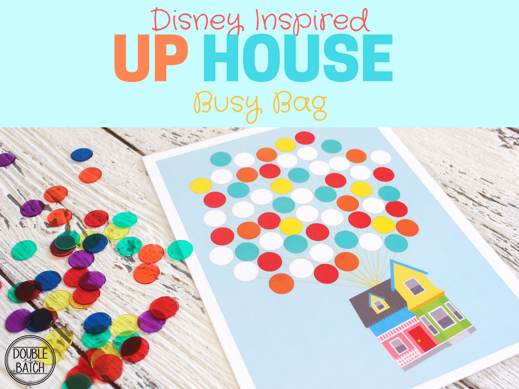 Disney Inspired UP HOUSE Busy Bag
