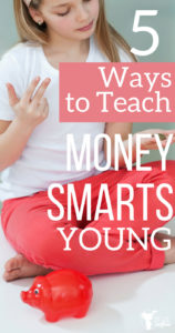 Teach your child how to manage money young! Help your child understand how to earn, save and spend money!
