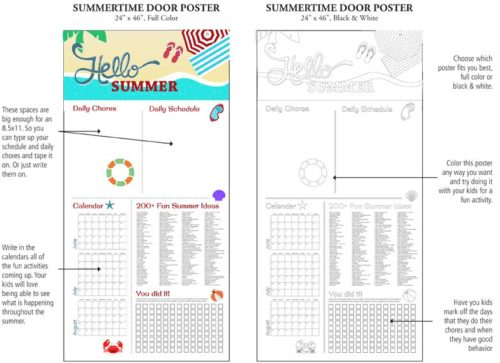 Ideas to Help Child Boredom this Summer!!