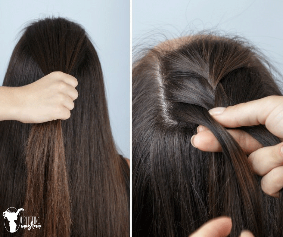 Easy Half Braid Tutorial