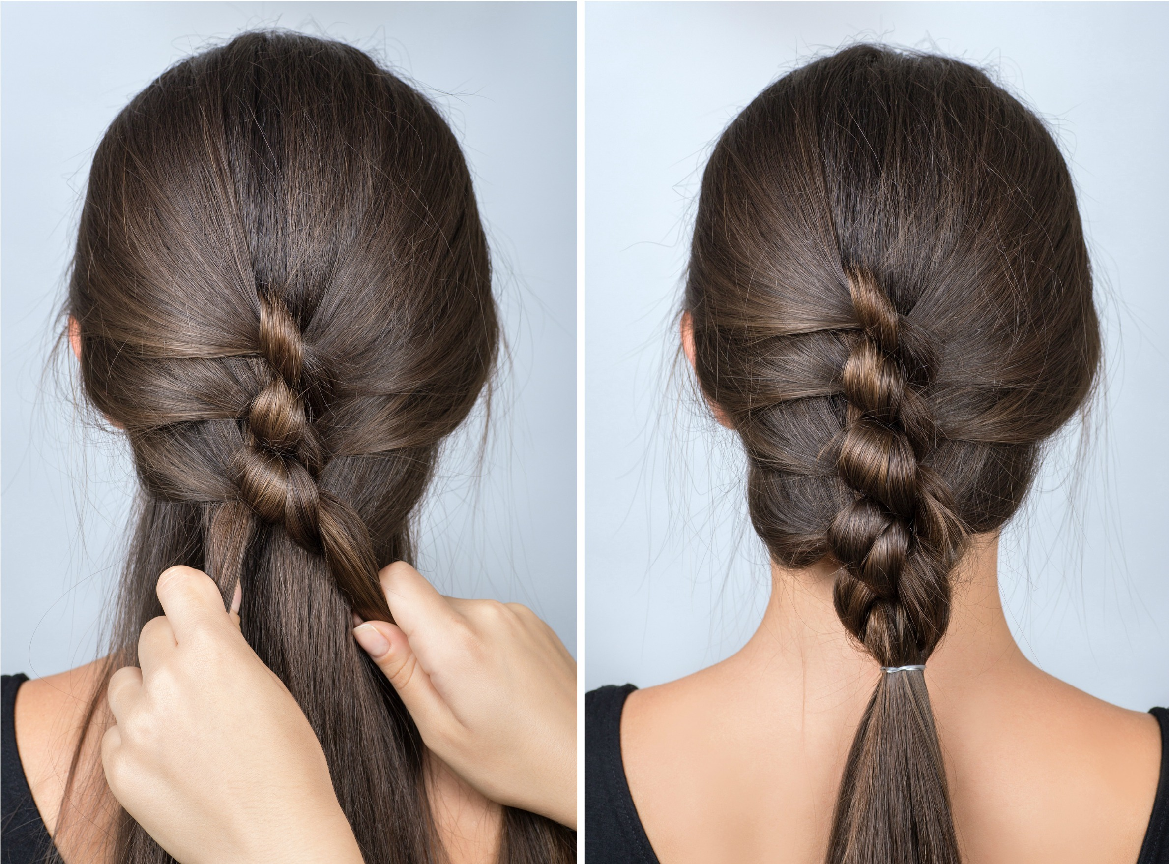 Twisted Braid: Simple hairstyle for school Tutorial - Uplifting Mayhem