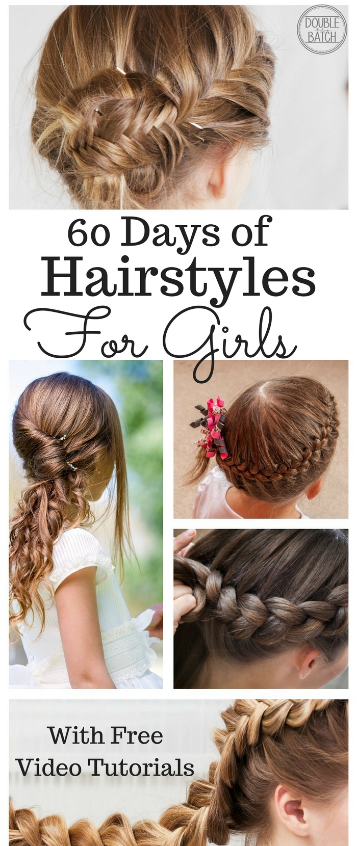 60 Day of Hairstyles for Little Girls