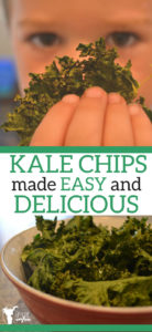 Kale Chips made Easy and Delicious