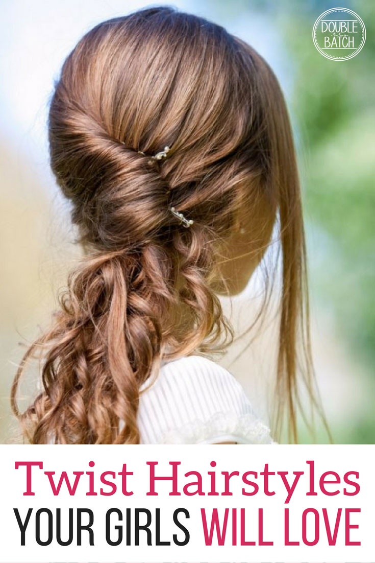 Twist Hairstyles for girls