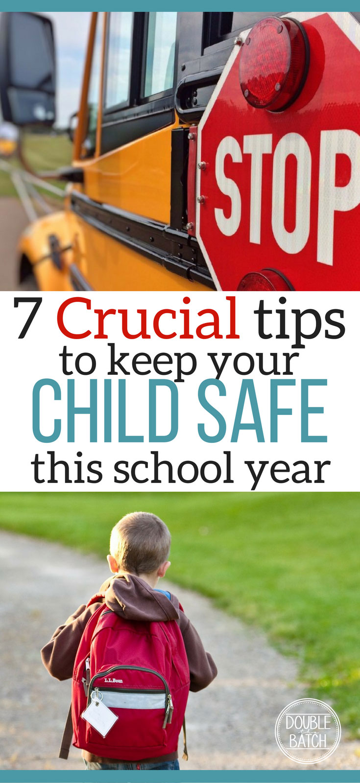 It's so important to be prepared when it comes to child safety! Here are great tips to keeping your child safe this school year!