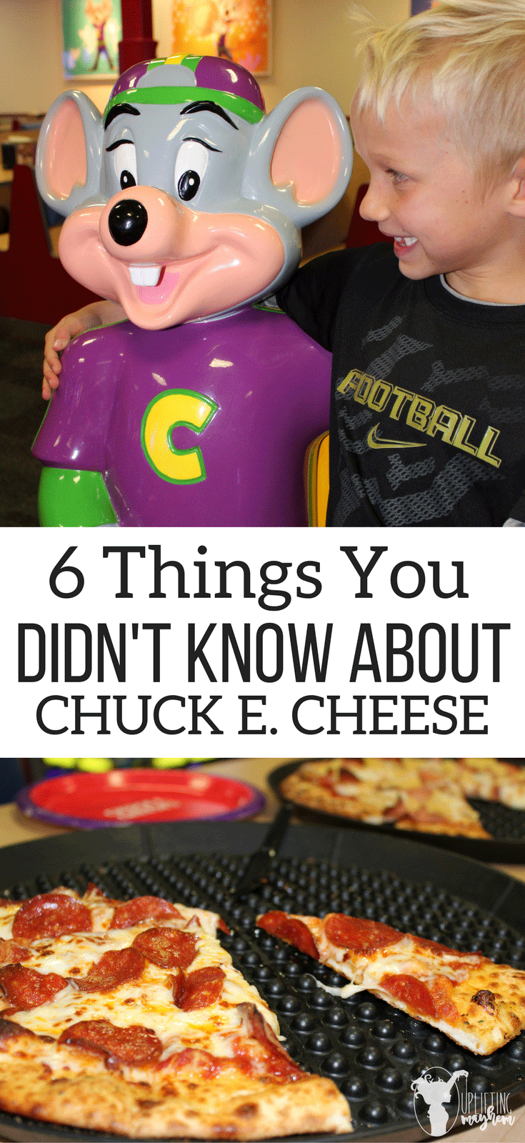 6 Things you Didn't Know about Chuck E Cheese