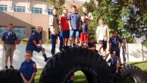 tire, boys, cub scouts