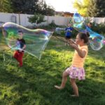 DIY ginormous bubbles for ALL ages