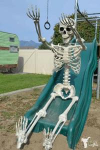 """Elf on the Shelf"" Skeleton"