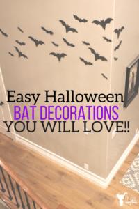 Halloween Bat Decorations