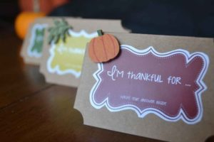 pumpkin, place card