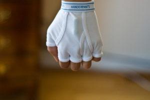 gloves, underwear
