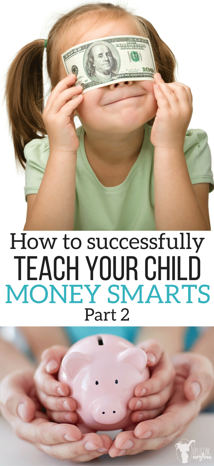 Saving money is something that is taught and should be taught at a young age! Learn how to do this!