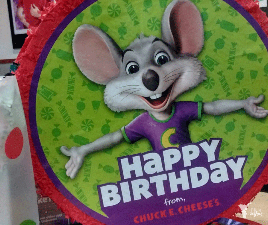 A Perfect Chuck E. Cheese Birthday Celebration