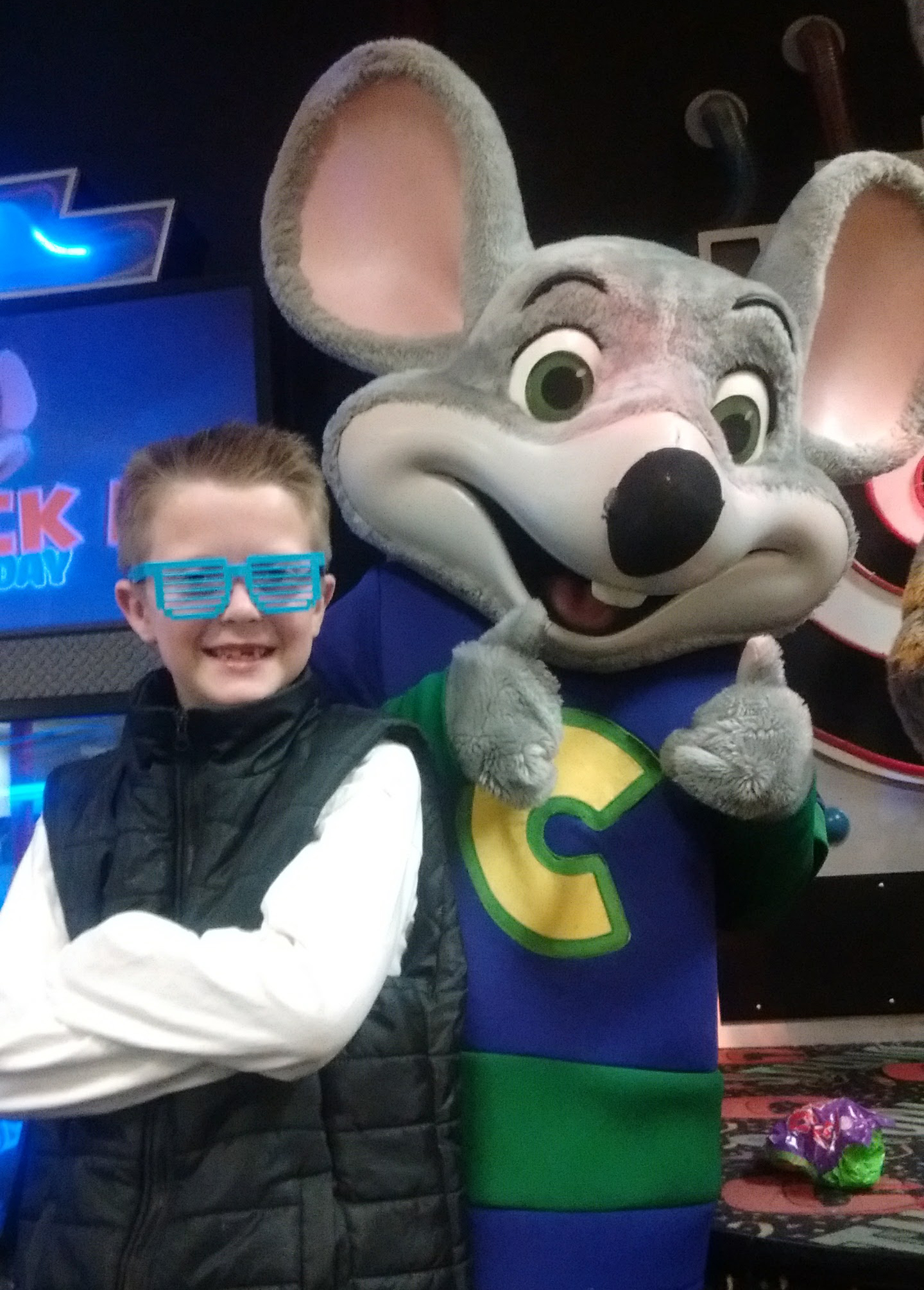birthday, Chuck E. Cheese's