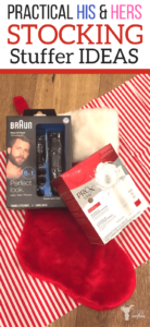 Practical His & Her Stocking Stuffers