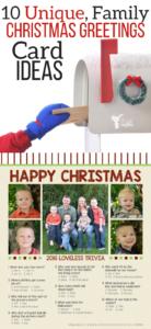 10 Unique Christmas Greeting Card Ideas