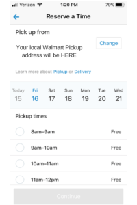 How you can save an hour of your life each week with WALMART PICKUP