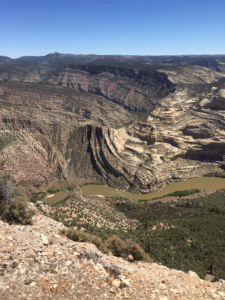 Hiking in dinosaur national monument