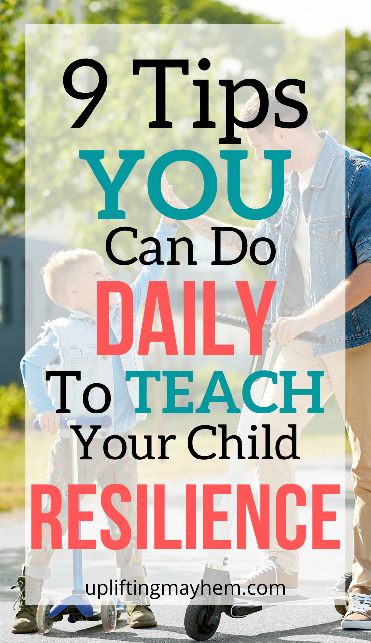 Are you teaching resilience to kids? Resilient kids see life as challenging and ever changing and uses these to become stronger! You can teach these traits to your kids and help them have stronger resilience!