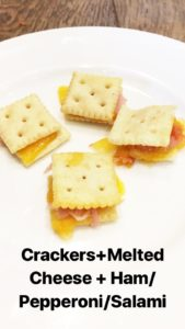 Perfect after school snack. So easy your kid could make them. Delicious snacks, easy snacks and healthy snacks!