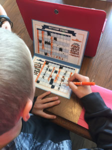 Instructions on how to play spelling battleship and a free printable you can use over and over again! Fun game of spelling battleship!!