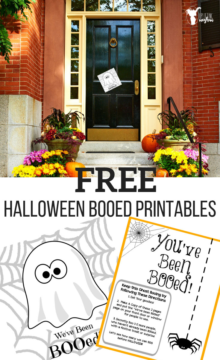 Start a Halloween Tradition and Boo your neighbors and friends with a treat! Free printable to make it easy for you!