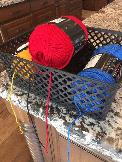 Learn to knit with items in your home! So easy your kids will want to do it for hours. Great activity for your kids to do while reading to your kids! Keeps hands quiet