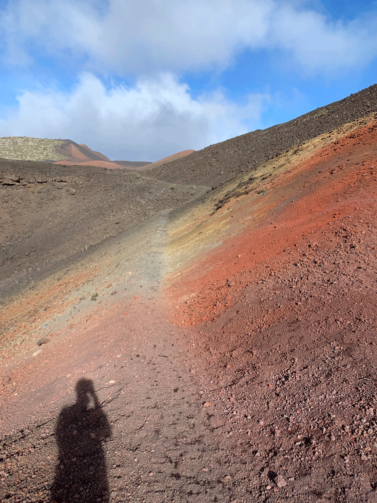 Mt Haleakala Crater hike with stunning colors