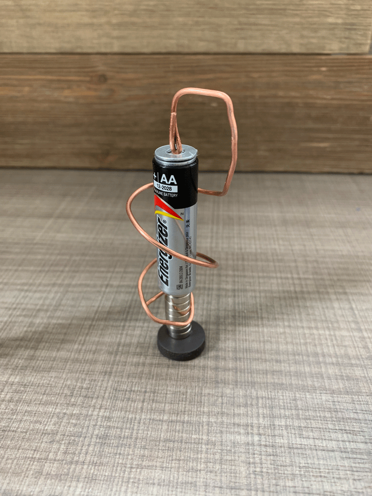 The twirl design of a homopolar motor