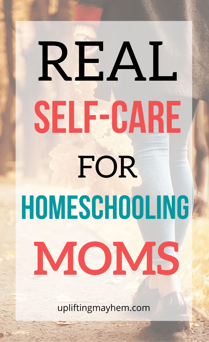 Let's get real! What is self care? Expensive? Time consuming? Unrealistic with lots of kids? Read this fantastic article on real self care for homeschooling moms!