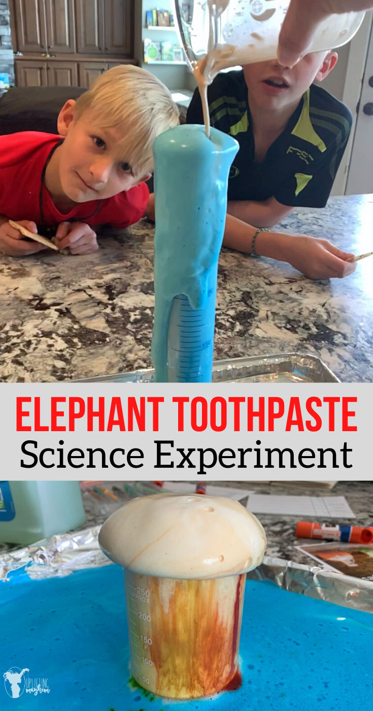 This elephant toothpaste science experiment is definitely a crowd pleaser either as a fun experiment or a learning experiment. Learn the difference between chemical and physical properties