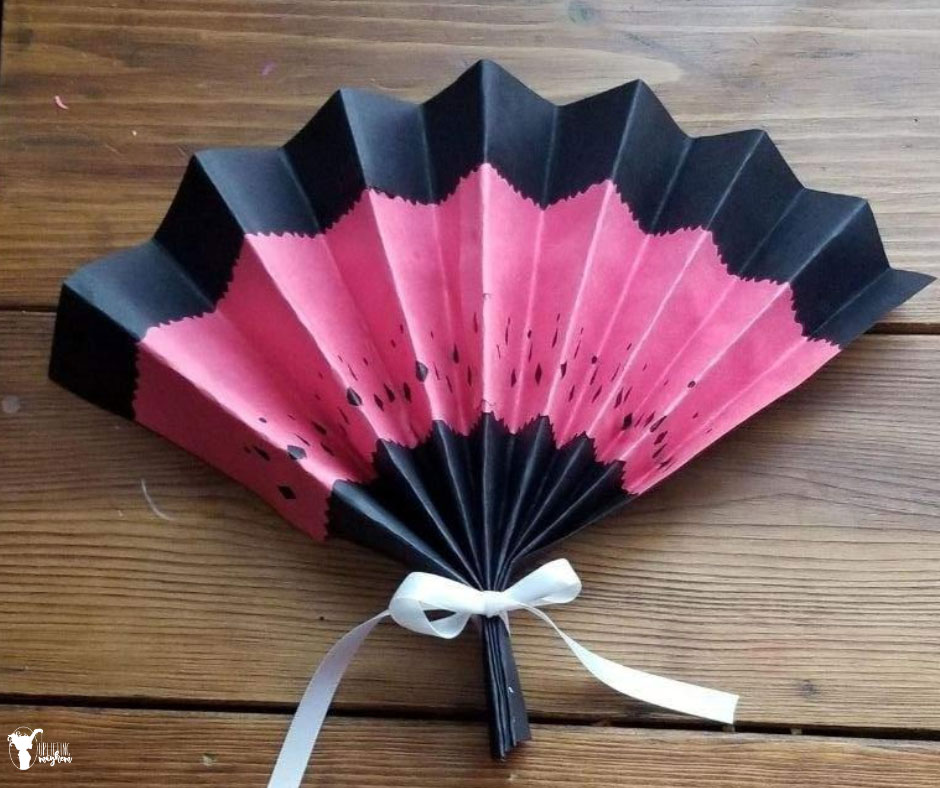 Learn how to make this fun Flamenco Dance paper fan and learn of the culture of Spain.