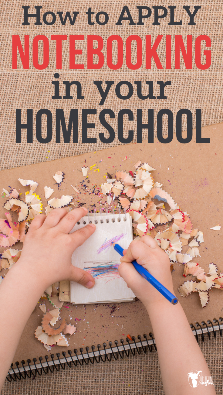 Inspiration on how to start notebooking in your homeschool. Notebooking is a powerful tool that will great treasures and memories for your kids!